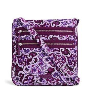VB Triple Zip Hipster in Lilac Paisley NWT